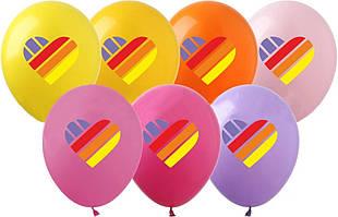"""Латексные воздушные шары Show Likee 12"""" (30 см) 10 шт"""