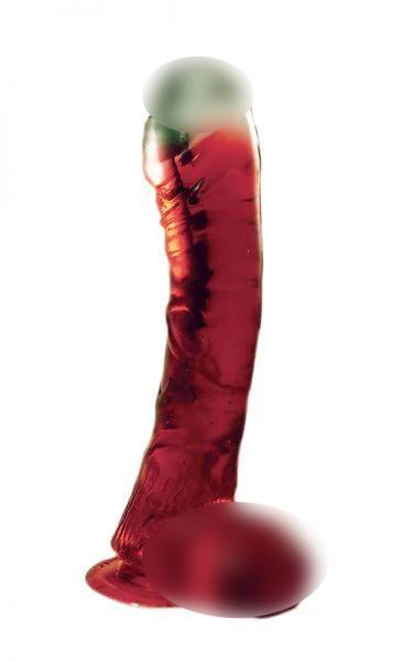 Фаллоимитатор LAZY BUTTCOCK 6.5 RED DONG
