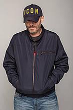 Молодіжна чоловіча куртка вітрівка з поясом Miorichi