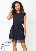 Элегантное платье с поясом  040 В /05, фото 1