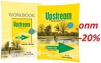Английский язык / Upstream / Student's+Workbook. Учебник+Тетрадь, комплект, A1+ Beginner / Exspress Publishing