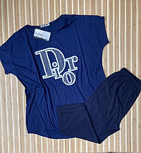 Костюм туніка з бриджами великого розміру Dior