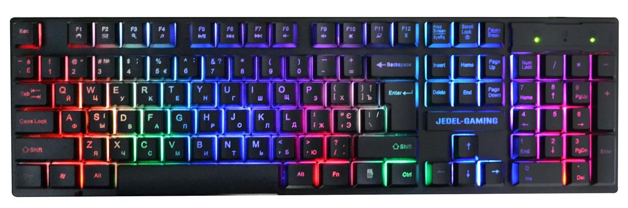Дротова клавіатура JEDEL K510 RGB