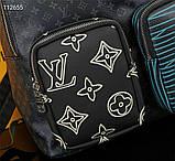 Рюкзак Луи Витон, кожаная реплика, фото 4