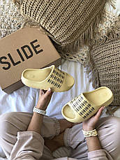 Женские шлепанцы Adidas Yeezy Slide Bone Logo FW6345, фото 2