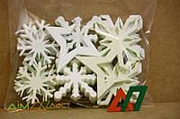 Снежинки маленькие набор 20 шт