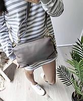 Жіноча шкіряна сумка. Сумочка жіноча з натуральної шкіри, сумка для дівчат на кожен день, фото 3
