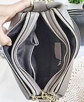 Жіноча шкіряна сумка. Сумочка жіноча з натуральної шкіри, сумка для дівчат на кожен день, фото 8