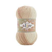 Alize Bella Batik 100 (Ализе Бела Батик 100) № 1815 (Пряжа хлопок, нитки для вязания)
