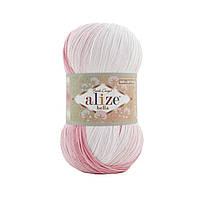 Alize Bella Batik 100 (Ализе Бела Батик 100) № 2126 (Пряжа хлопок, нитки для вязания)