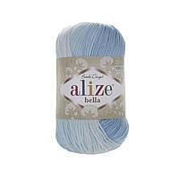 Alize Bella Batik 100 (Алізе Білого Батік 100) № 2130 (Пряжа бавовна, нитки для в'язання)