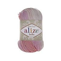 Alize Bella Batik 100 (Алізе Білого Батік 100) № 2807 (Пряжа бавовна, нитки для в'язання)