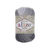 Alize Bella Batik 100 (Алізе Білого Батік 100) № 2905 (Пряжа бавовна, нитки для в'язання)