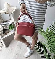 Міні сумка жіноча шкіряна. Сумочка жіноча з натуральної шкіри, фото 2
