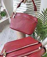 Міні сумка жіноча шкіряна. Сумочка жіноча з натуральної шкіри, фото 5