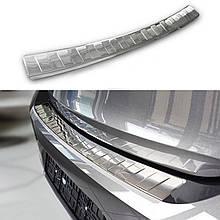 Защитная накладка на задний бампер для Opel Corsa F 2019+ /нерж.сталь/