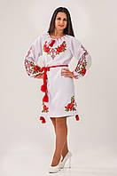 Элегантное вышитое женское платье., фото 1