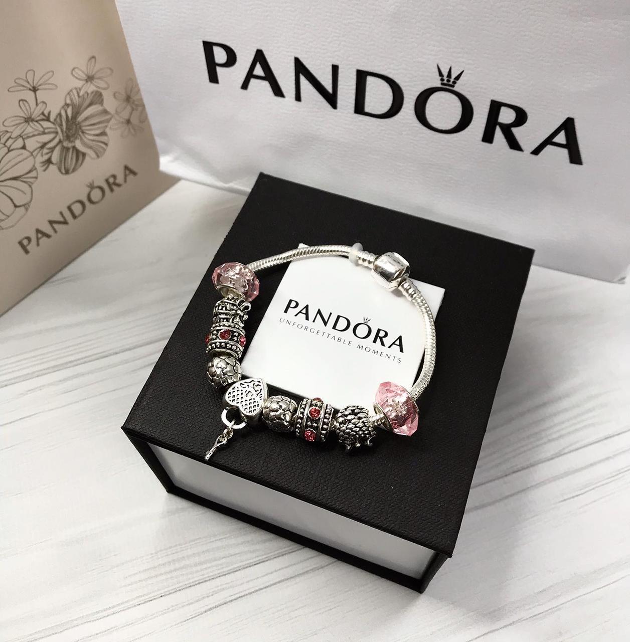 Pandora браслет з шармами ( стильний браслет пандора )