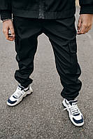 Детские штаны черные для мальчика, спортивные брюки на мальчика весна/осень Easy softshell