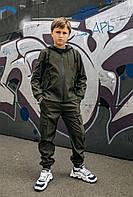 Детские спортивные штаны хаки для мальчика, брюки на мальчика Easy softshell
