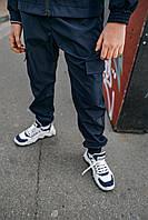 Детские спортивные штаны синие для мальчика, брюки на мальчика Easy softshell