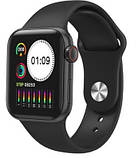 Смарт Годинник Браслет T500 Smart Watch Apple T-500 Фітнес Трекер, фото 3