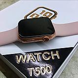 Смарт Годинник Браслет T500 Smart Watch Apple T-500 Фітнес Трекер, фото 6