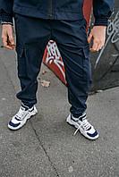 Детские штаны для мальчика синие, спортивные брюки на мальчика Easy softshell