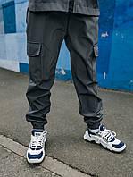 Детские штаны для мальчика серые, спортивные брюки на мальчика Easy softshell