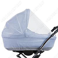 Москитная сетка на коляску люльку, накидка на коляску из фатина, москитка для люльки
