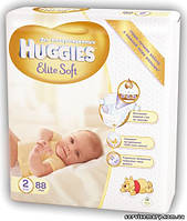 Подгузники Huggies Elite Soft 2 (4-7 кг) 88шт