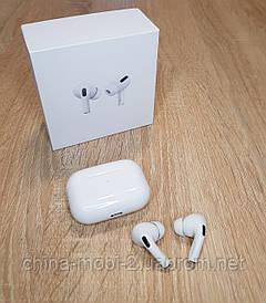 Apple Airpods pro, airpods pro бездротові навушники lux 1:1, кейс з бездротовою зарядкою