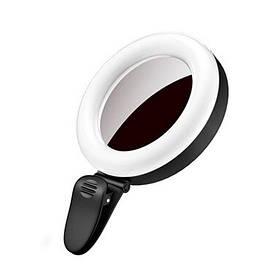 Подсветка для селфи SF-06 Black