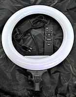 Светодиодная кольцевая лампа селфи кольцо Ring Supplementary Lamp 32см (с держателем и пультом, без подставки)