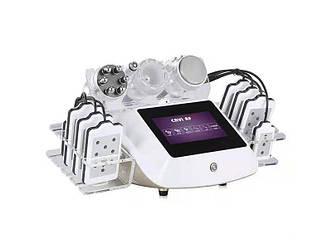 Аппарат косметологический  206 B.S. Ukraine с сенсорным управлением: кавитация, RF, микротоки, липолазер