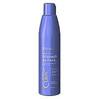"""Шампунь для всіх типів волосся """"Водний баланс"""" Estel Professional Curex Balance 300 мл (4606453065540)"""