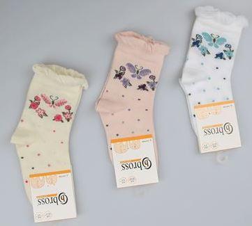 Детские носки их хлопка с рисунком Bross
