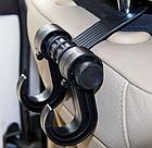 ОПТ Универсальная вешалка-крючок на спинку сиденья автомобиля для пакетов, одежды и сумок Vehicle Hander, фото 3