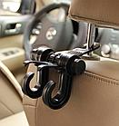 ОПТ Универсальная вешалка-крючок на спинку сиденья автомобиля для пакетов, одежды и сумок Vehicle Hander, фото 4