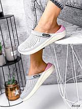Сабо женские кроссы резиновые, фото 2