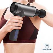 Ручной массажер Medica+ Перкуссионный MassHand Pro 5.0 (Япония), фото 3