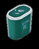 Точилка прямоугольная DRUM, 2 отв., контейнер, пластик. корпус, ассорти  BM.4776, фото 2