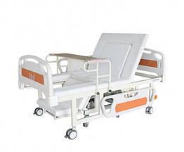 Медицинская функциональная электро кровать W01. Встроенное инвалидное кресло. Кровать с туалетом.