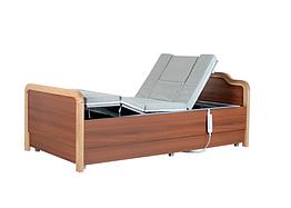 Медицинская функциональная электро кровать с туалетом  H101. Регулируемая высота ложа. Для инвалидов.