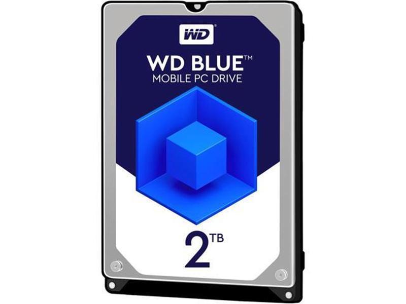 """HDD 2.5"""" SATA 2.0TB WD Blue 5400rpm 128MB (WD20SPZX)"""