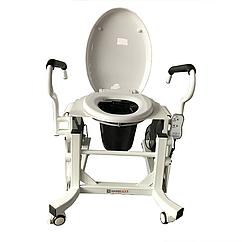 Кресло для туалета c подъемным устройством и подставным судномLWY-002.