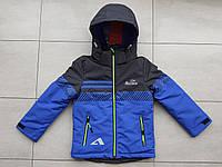 Курточка весняна пряма на хлопчика 116-134, фото 1