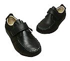 Шкіряні чорні туфлі-мокасіні хлопчикові, розмір 36 устілка 23 см, фото 3