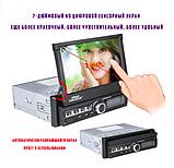 Автомагнітола 1DIN з висувним сенсорним екраном 7 дюймів 7110, магнітола 1 дін, фото 6