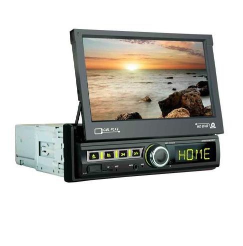 Автомагнітола 1DIN з висувним сенсорним екраном 7 дюймів 7110, магнітола 1 дін